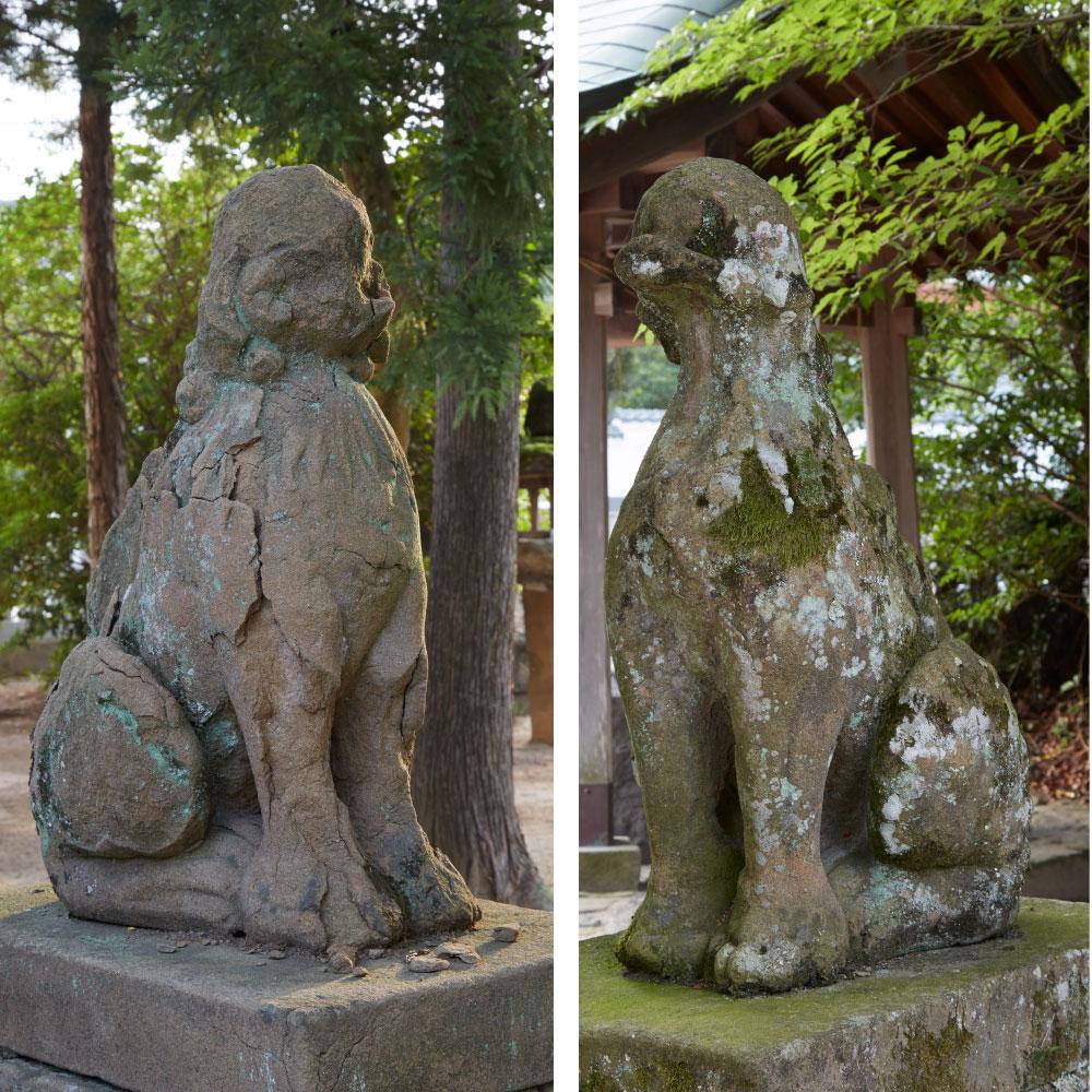 狛犬(年代不詳の傑作)