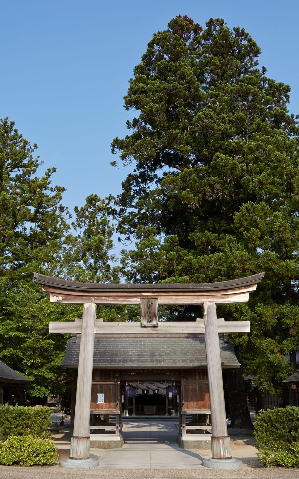 八重垣神社由来